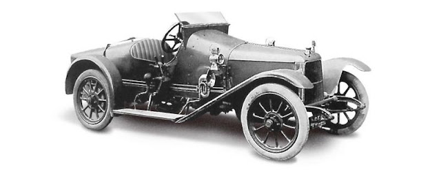Aston Martin «Coal Scuttle», 1915 г.