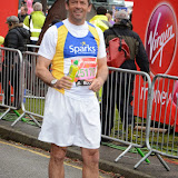 OIC - ENTSIMAGES.COM - Phil Brown at the Virgin London Marathon 2015 in London 26th April 2015  Photo Mobis Photos/OIC 0203 174 1069