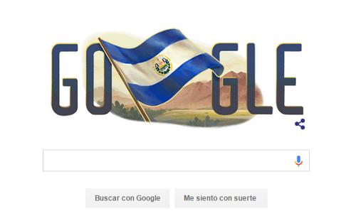El doodle del día de la independencia 2015