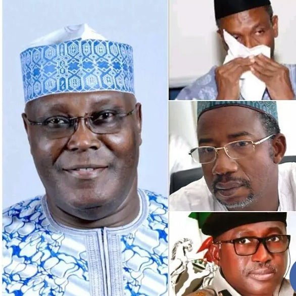 Atiku praises El-rufai, Bala Mohammed and Immigration boss for opening up about their COVID19 status