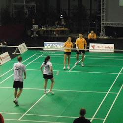 2012 Badmintoninterland België - Nederland