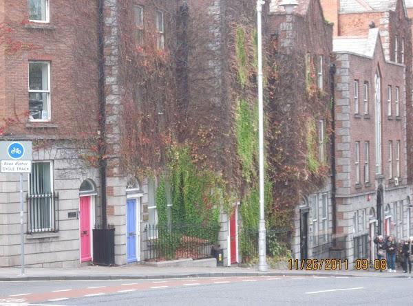 Behind Christ Church, Dublin