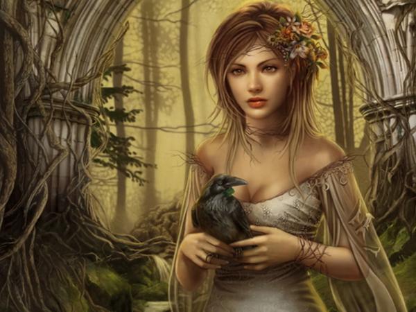 Lady With Black Raven, Fairies 3