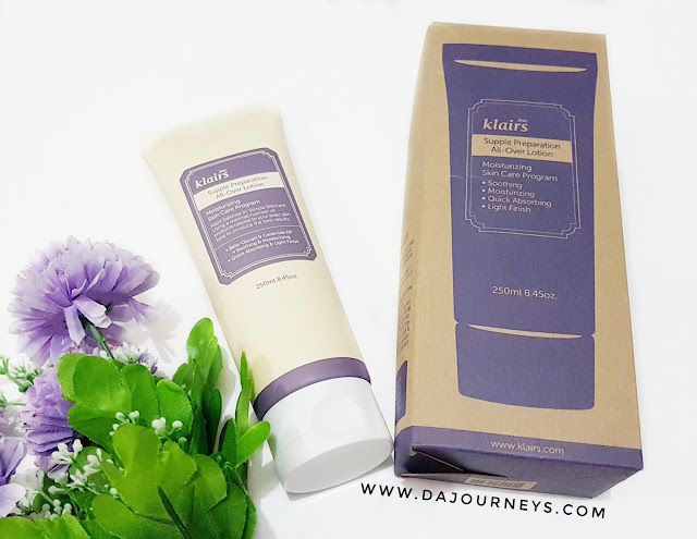 Review Klairs Supple Preparation All Over Lotion