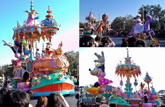 12 迪士尼聖誕村大遊行幸福在這裡夢之光大遊行