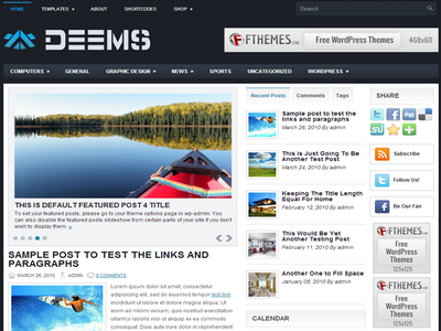 Deems  - by Fthemes