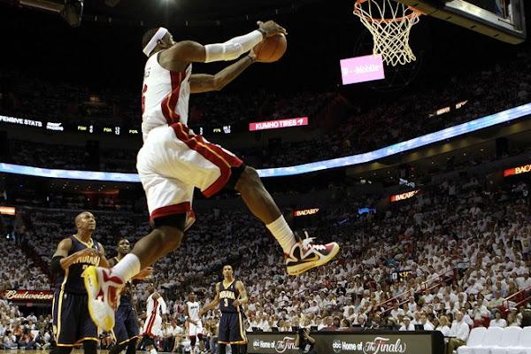 Miami Takes Series Opener LeBron Wears New MVP Shoes