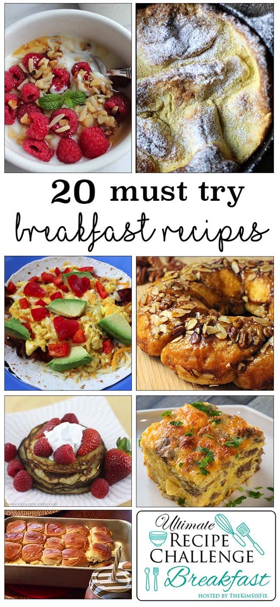 20 must try breakfast recipes from todays top bloggers