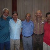2008 Winter Nationals - The 2008 Winners of Ashok R. Ruia Team of Four Event From L to R: P.G. Hegde, Sunil Machhar, R.A. Agarwal, Arvind Vaidya, Arun Bapat