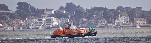 The ALB joins the search for the missing dinghy sailor - 3 April 2015.  Photo credit: Dave Riley