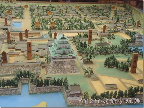 名古屋城的範圍輪廓