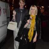 WWW.ENTSIMAGES.COM -   Lady Charlotte Lynham and Lewis-Duncan Weedon sighted at  LFW - CARLOTTA ACTIS BARONE 2014 COLLECTION AT WOLFE AND BADGER LONDON SEPT 12TH 2013                                                    Photo Mobis Photos/OIC 0203 174 1069