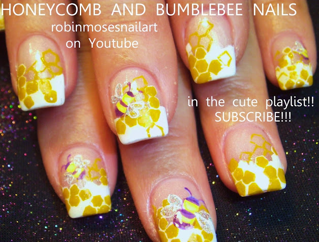 Robin moses nail art hippie girl nails mary singleton nail art cute beehive nail art bumble bee nails prinsesfo Image collections