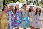 Jensen Wallace, Kayla Jane Smith, Catherine Coggins, 2014 Azalea Princess Tori Mathew, Amanda Grimes, Kristen Wheeler
