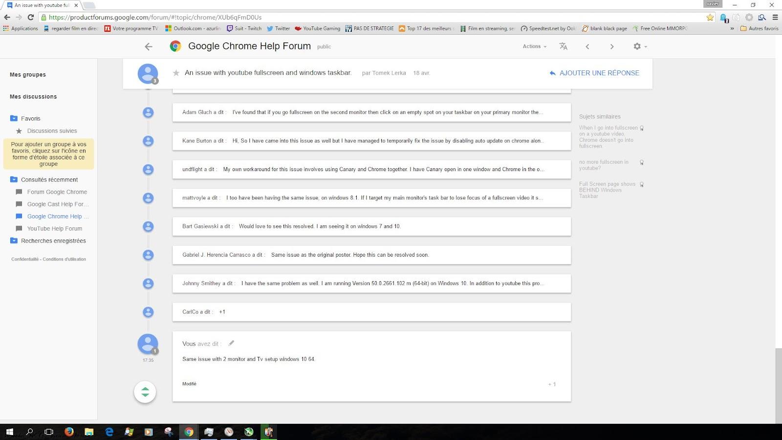 how to get taskbar in google chrome