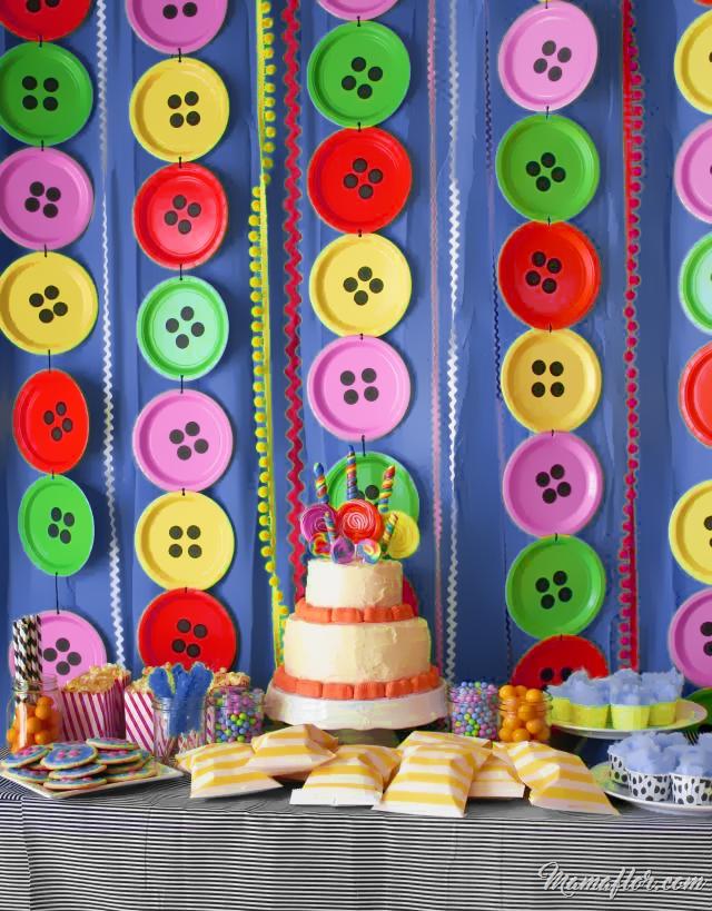 30 ideas para decorar con platos desechables for Platos de decoracion