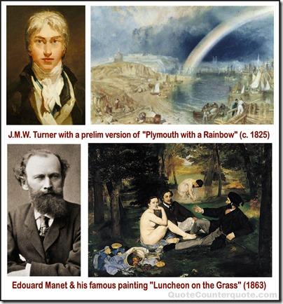 J.M.W. Turner & Manet montage 02