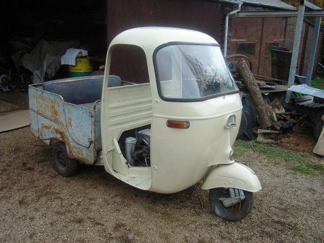 Piaggio ape AE01T calessino 1966  [vendu] DSC05950