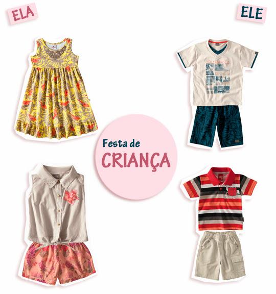 Look Infantil: Festa de Criança