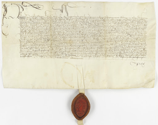 The «Butterbrief» from 1456 issued by Bischof Heinrich von Konstanz ...