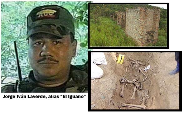Resultado de imagen para las matanzas de Jorge Iván Laverde