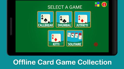 Callbreak, Dhumbal, Kitti & Jutpatti-Card Games  screenshots 1