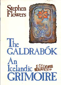 Cover of Stephen Flowers's Book The Galdrabok An Icelandic Grimoire