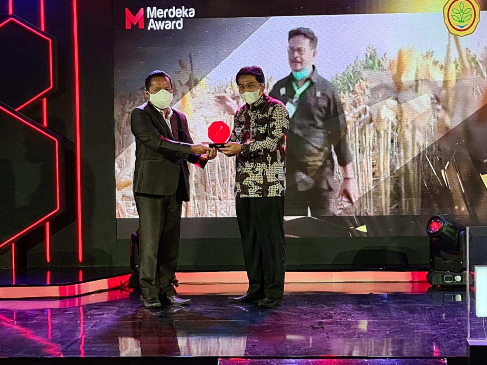 Program Inovatif Selama Pandemi, Kementan RI Raih Merdeka Award