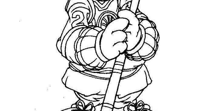 Dibujos Para Colorear Jugador De Hockey: Pinto Dibujos: Jugador De Hockey De Los Precious Moments