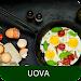 Uova ricette di cucina gratis in italiano offline. Icon