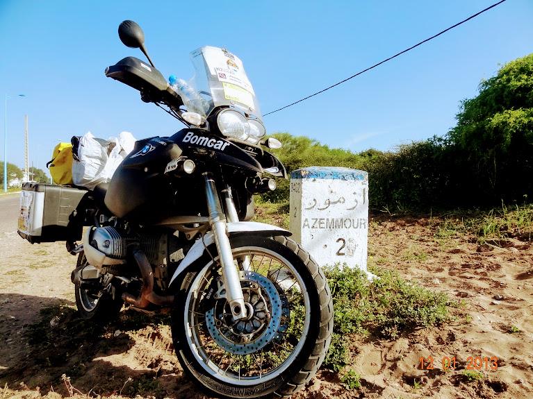 marrocos - Marrocos e Mauritãnia a Queimar Pneu e Gasolina DSC05370