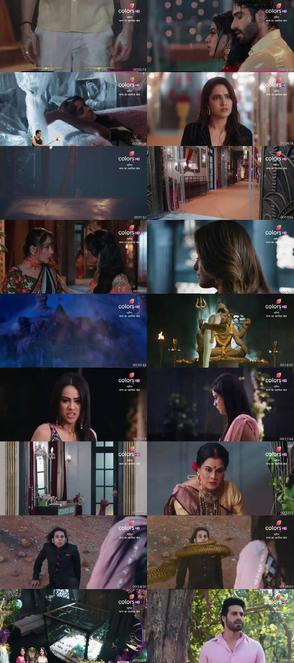 Screenshots Of Hindi Show Naagin Season 4 2020 Episode 17 300MB 480P HD