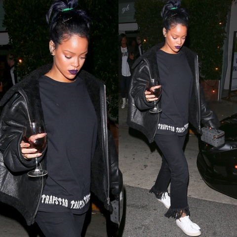 Rihanna in Trapstar, 3x1 and Ports 1961
