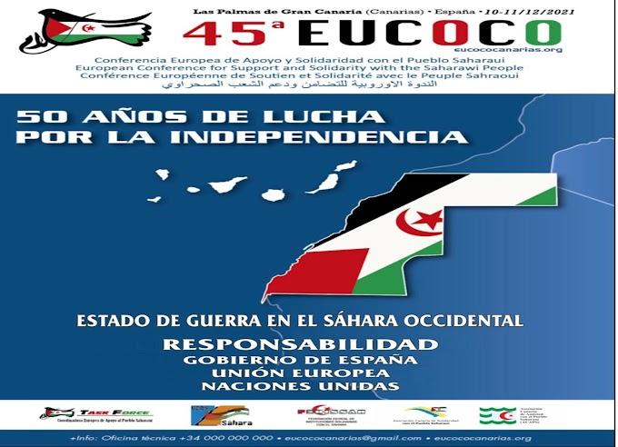 En Las Palmas de Gran Canarias se celebrará la 45ª EUCOCO.