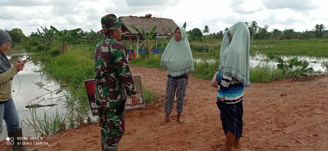 Kodim 0418 palembang bakal menjadi bagian sejarah kemajuan kampung Jawi.