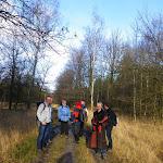 019-Nieuwjaarswandeling met de Bevers.Menno gidst ons door het mooie natuurgebied De Regte Heide te Go+»rle