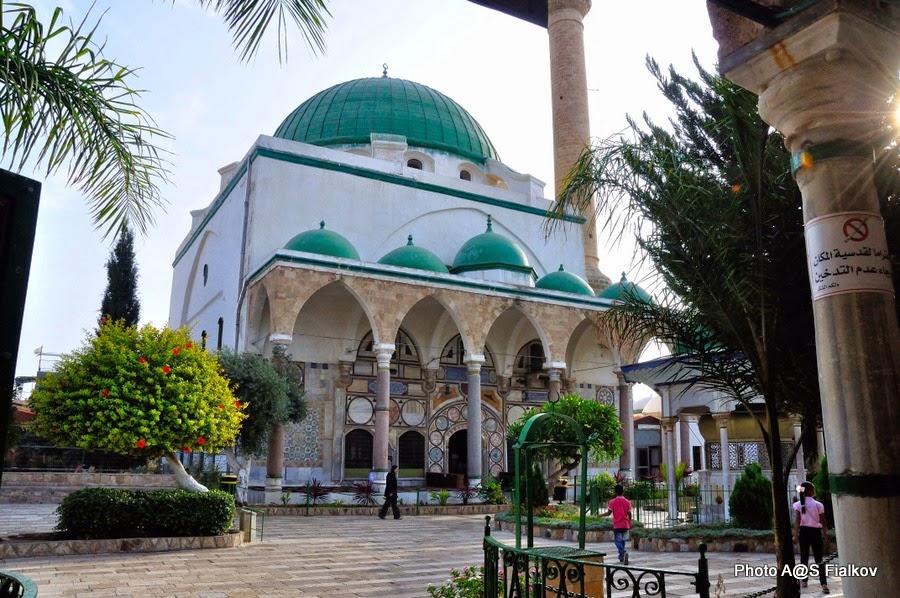 Акко, мечеть Аль Джазар. Экскурсия по Западной Галилее. Гид в Израиле Светлана Фиалкова.