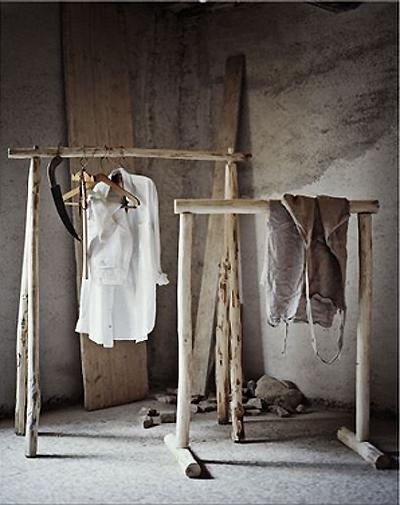 En mi espacio vital muebles recuperados y decoraci n - Burro para colgar ropa ...