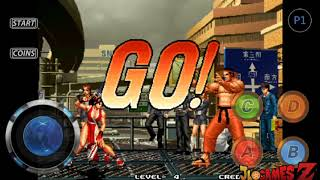 INCRÍVEL!! THE KING OF FIGHTERS 96 PARA CELULARES ANDROID EM APK + DOWNLOAD