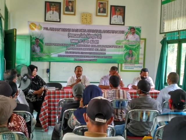 Pelatihan Perencanaan Usaha Poktan Siapkan Korporasi Petani Kecamatan Pandawan
