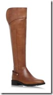 Carvela Comfort Tan Leather Over the Knee Boot