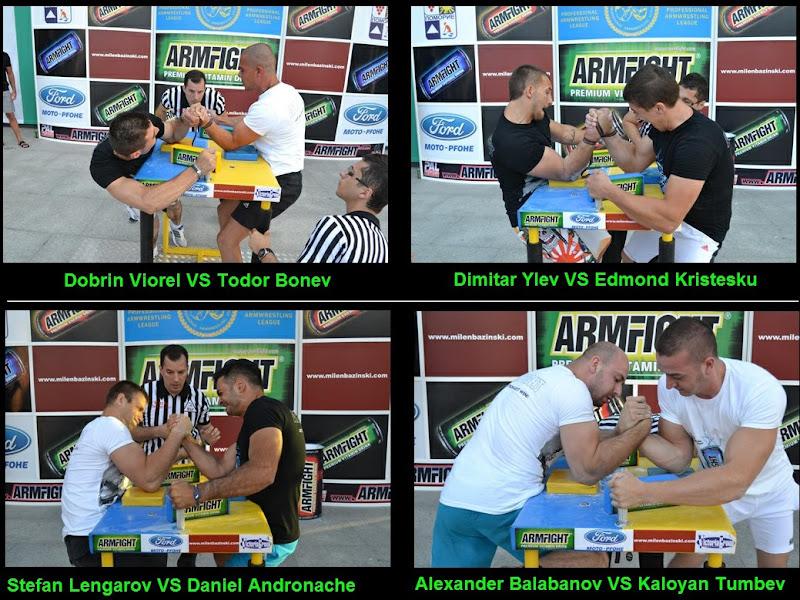 "PAL - BALKAN ARMRESTLING LEAGUE  2012 International Armwrestling Tournament (category -85 kg) 23 June 2012  Cultural Center ""Razvitie"" - Pomorie town (Bulgaria)"