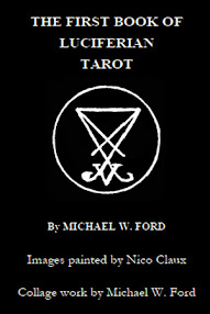 Cover of Michael Ford's Book The First Book of Luciferian Tarot