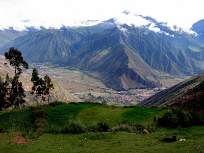 Sacred Valley in Peru