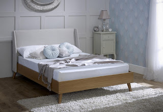 Great LB material u oak bed frame available sizes u