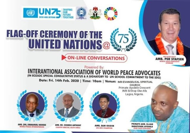 Primate Elijah Ayodele The Record Breaker: To Host United Nations In Lagos