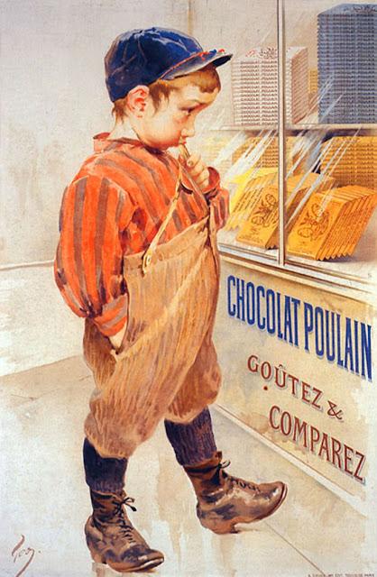 La publicidad tambien es un arte - Página 4 Chocolat-poulain