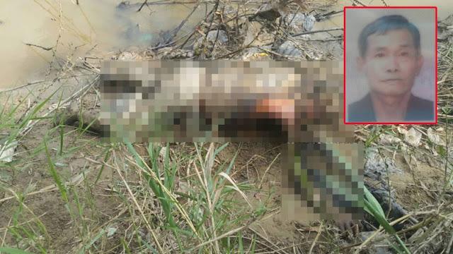 Mayat lelaki ditemui di tebing sungai, tangan tinggal tulang