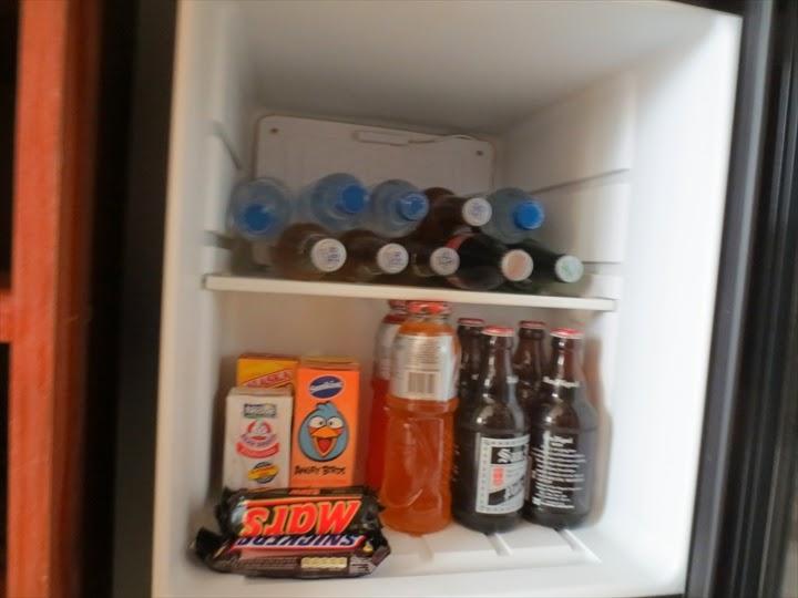 セントラルパークタワーリゾート小型冷蔵庫