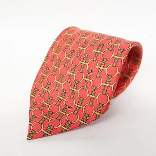 Hermès Equestrian Tie
